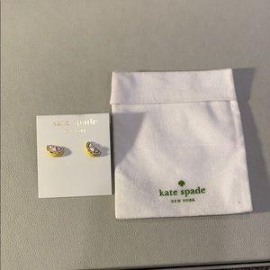 Kate Spade Lemon Wedge Stud Earrings